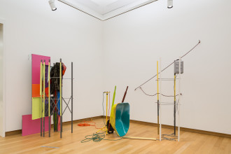 Jessica Stockholder, 'Coupling', 1998. Collection Stedelijk Museum Amsterdam. Photo: Peter Tijhuis
