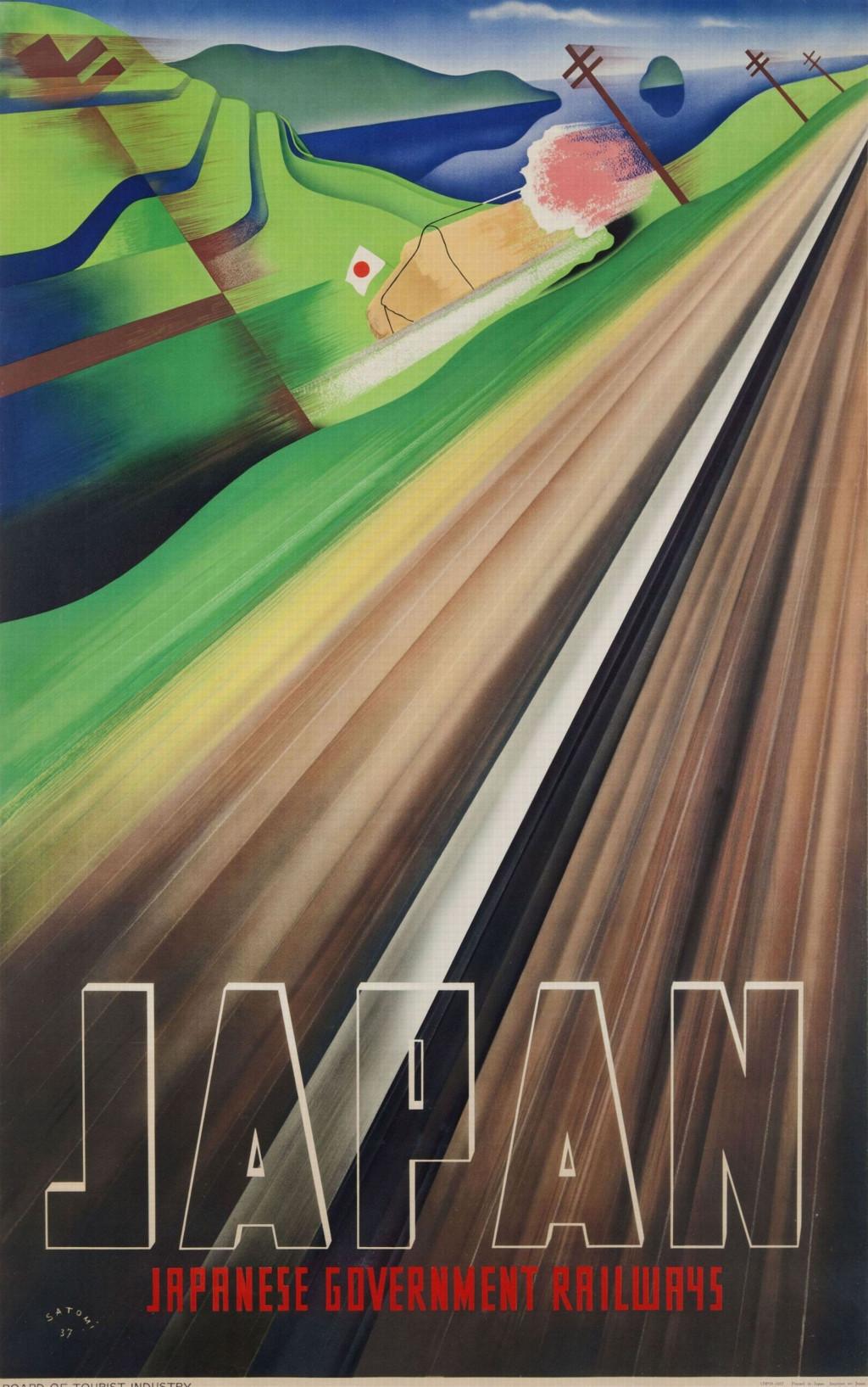 Muneji Satomi, 'Japan', 1937. Collectie Stedelijk Museum Amsterdam