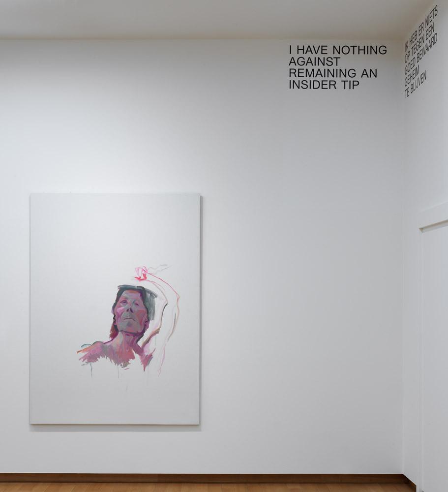Maria Lassnig, 'Selbstporträt mit Pinsel', 2010–2013. © Maria Lassnig Foundation  Foto: Gert Jan van Rooij