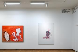 Zaalopname Maria Lassnig – Ways of Being, 2019, Stedelijk Museum Amsterdam.  Foto: Gert Jan van Rooij
