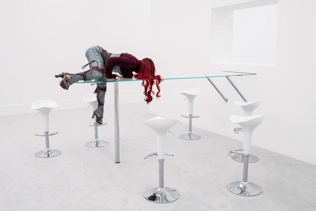 Anna Uddenberg, 'Precarious Patricia', 2019. Copyright: (c) Kunst- und Ausstellungshalle der Bundesrepublik Deutschland GmbH. Photo: Bastian Geza Aschoff. Courtesy: the artist; Stedelijk Museum, Amsterdam