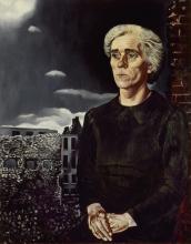 Charley Toorop, 'Arbeidersvrouw', 1943, 150 x 119 cm, oil paint on canvas, collection Stedelijk Museum Amsterdam