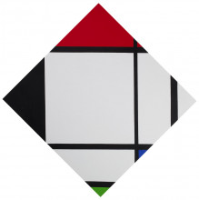 General Idea, Infe©ted Mondrian #2, 1994, Collection Stedelijk Museum Amsterdam. Acquired with the generous support of the Mondriaan Fund and the International Collector Circle and Curator Circle of the Stedelijk Museum Fonds