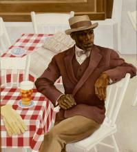 Nola Hatterman, Op het terras, 1930. Collectie Stedelijk Museum Amsterdam