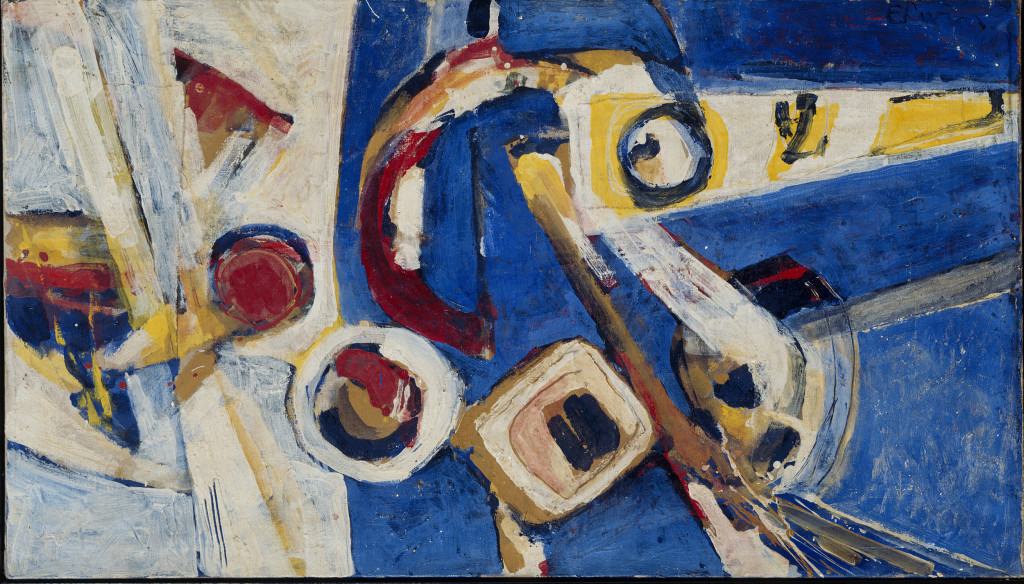 Erwin de Vries, 'Abstract', 1969, oil on canvas. Collection Stedelijk Museum Amsterdam