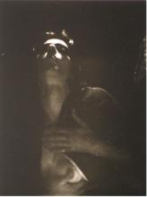 Ulay, 'Self-portrait', Amsterdam, 1972.  Gelatine silver print, 22,5 x 18,5 cm, collection Stedelijk Museum Amsterdam