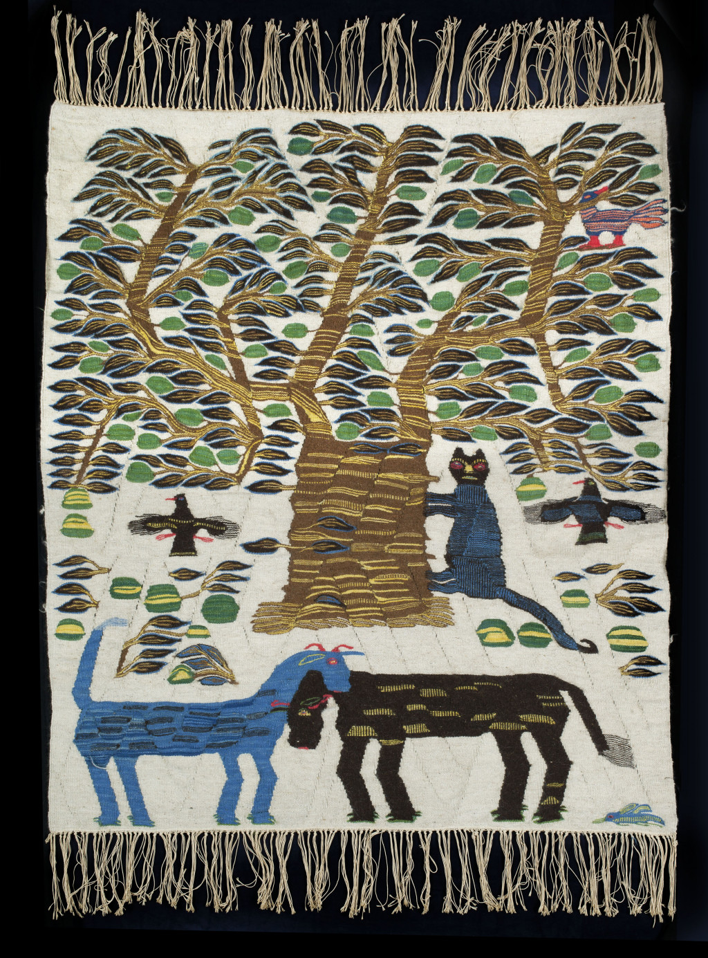 Rawhia Aly, L'arbre et le chat, 1961. Collectie Stedelijk Museum Amsterdam.