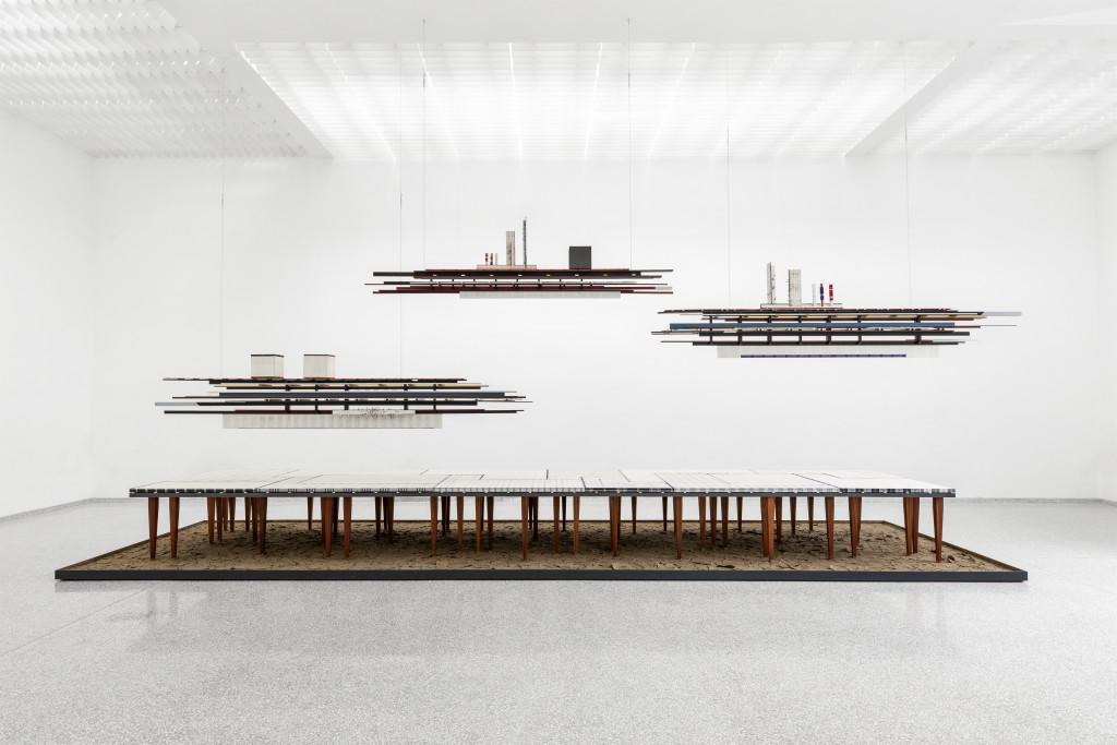 Remy Jungerman, VISITING DEITIES, 2018 - 2019. Kunstmuseum Den Haag - aankoop met steun van het Mondriaan Fonds. Fotografie Aatjan Renders