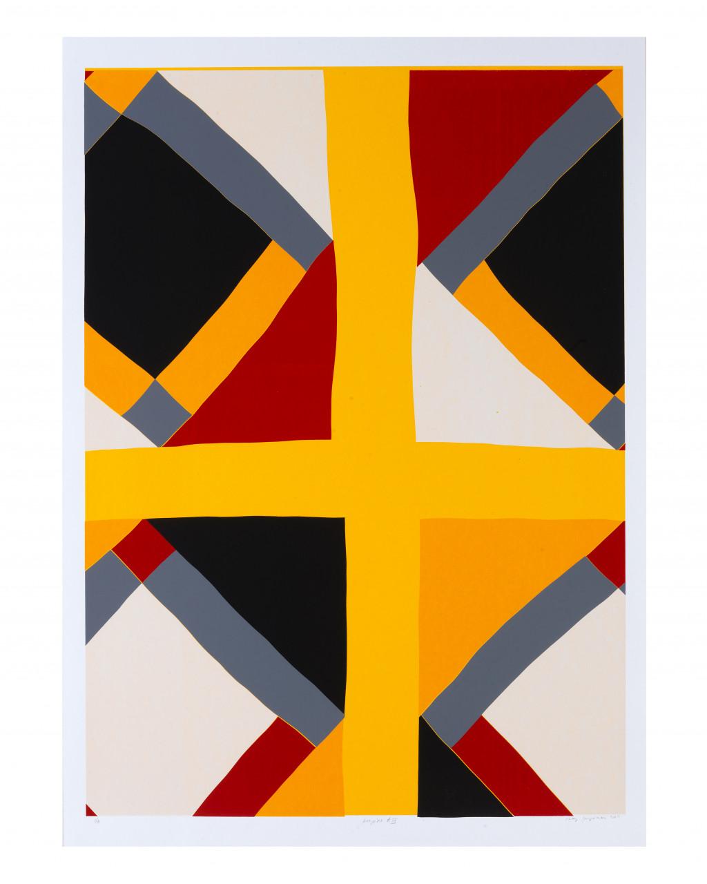 Remy Jungerman, PEEPINA A4, zeefdruk (Ltd Ed. van 4), 70 x 100 cm, 2011. Courtesy van de kunstenaar en Galerie Ron Mandos. Fotografie Aatjan Renders
