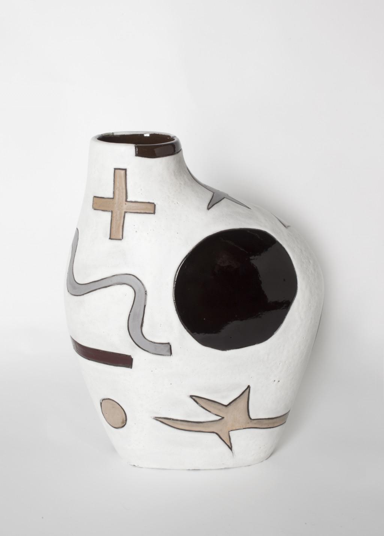 Harvey Bouterse, #33, 2018-2020, keramiek, glazuur. Collectie Stedelijk Museum Amsterdam