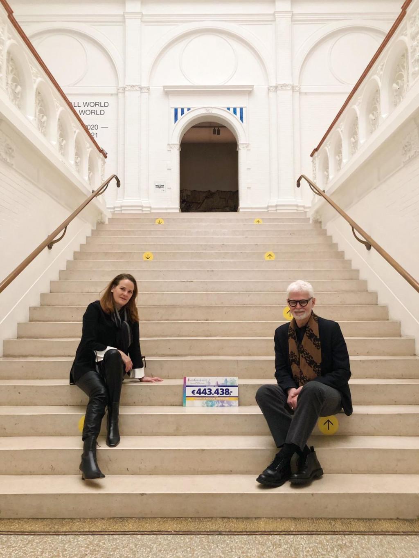 Directeur Rein Wolfs en zakelijk directeur Jacqueline Bongartz
