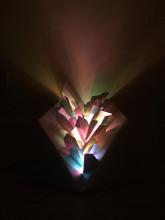 nzending van deelnemer Beate Bos bij de opdracht 'Luminous Forms' van Pieke Bergmans