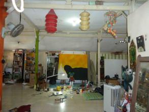 Yogyakarta, inside Papermoon's Studio © Kerstin Winking