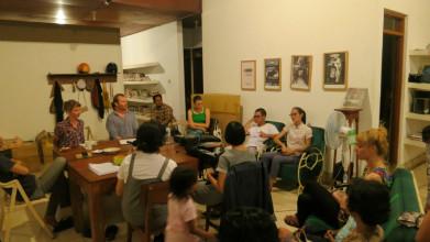 Publieksbijeenkomst Talking Commons @ KUNCI, Yogyakarta