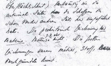 Uit brief van Beatrice de Waard aan Karl Polanyi, ongedateerd.