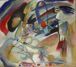 Wassily Kandinsky, Improvisation 33 (Orient I), 1913, olieverf op doek, 88,5 x 100,5 cm, Stedelijk Museum, Amsterdam
