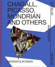 "Cover publication ""Chagall, Picasso, Mondrian and others: Migrants in Paris"""
