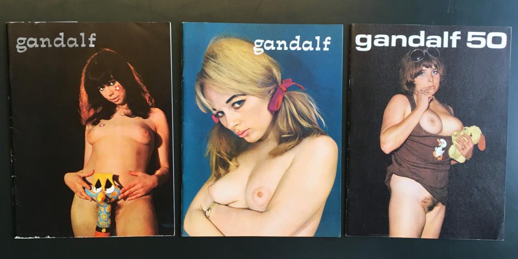 Verschillende edities van ´Gandalf´. Foto: Studio Gandalf. Collectie Rijksmuseum, Amsterdam.