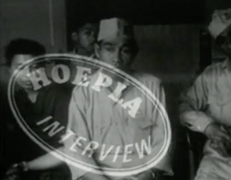 Film still of Hoepla, 1967-1968. Collection Stedelijk Museum Amsterdam
