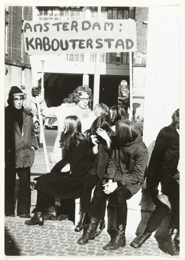 Coen Tasman, Protest against housing shortage, 1970. Collection Rijksmuseum, Amsterdam