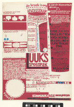 Iris de Leeuw, speespak certificate of authenticity, 1966-1967. Collection Rijksmuseum, Amsterdam