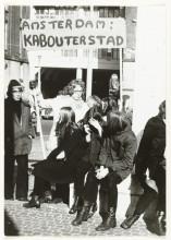 Coen Tasman, Aktie tegen woningnood, 1970. Collectie Rijksmuseum, Amsterdam