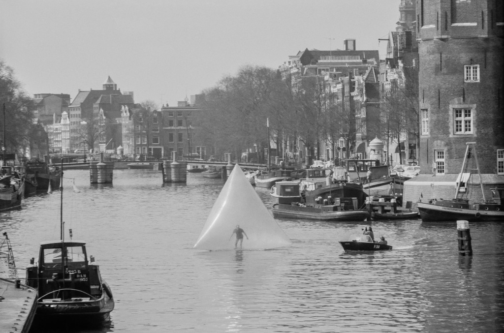 Eventstructure Research Group, 'Waterwalk', Six Events in Amsterdam, Sloterplas, Amsterdam, Netherlands (Photo: Pieter Boersma)
