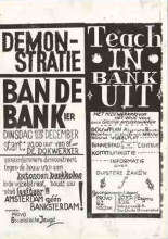 Ban de bankier (Ban the banker), cover design unknown, 1966, Collection International Institute of Social History (IISG)