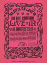 Na 'Sit In' en 'Love In' nu een enorme 'Live In' in Amsterdam, Amsterdaad '75, 1967-75, Collectie Internationaal Instituut voor Sociale Geschiedenis (IISG)