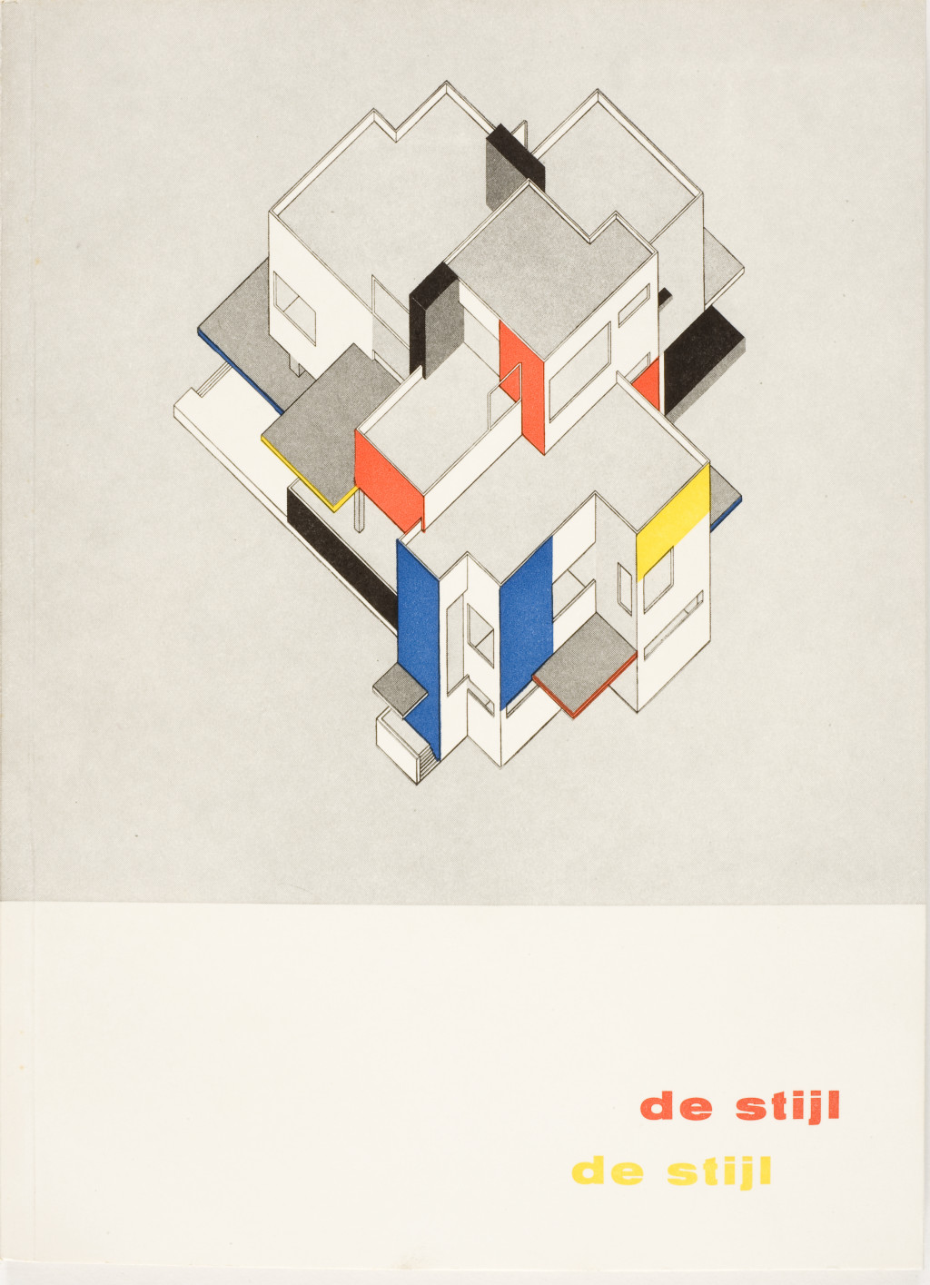 Fig. 3 Willem Sandberg, Cover of De Stijl exhibition catalogue, 1951, letterpress, 26 x 19.2 cm