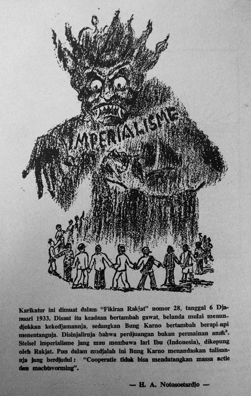 """Imperialism"", in Fikiran Ra'jat No. 28, 6 January 1933"
