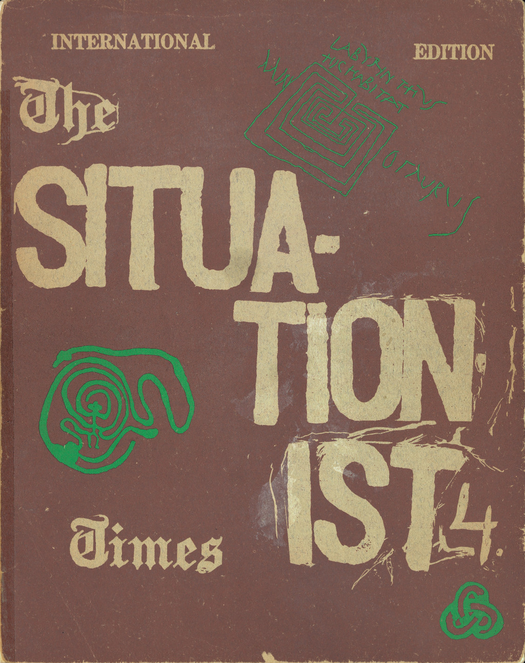 """The Situationist Times"" no. 4, October 1963."