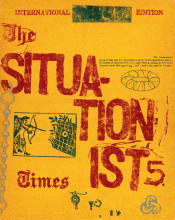 """The Situationist Times"" no. 5, December 1964."