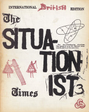 """The Situationist Times"" no. 3, January 1963."