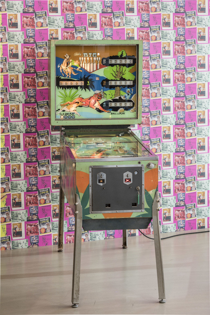 "Installation view ""Jacqueline de Jong & The Situationist Times: Same Player Shoots Again,"" Malmö Konsthall, Sweden, September 15, 2018–January, 13 2019. Photo: Malmö Konsthall."