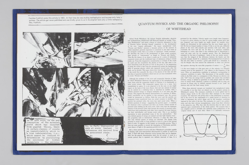 """Nils Bohr, """"Quantum Physics and the Organic Philosophy of Whitehead,"""" """"The Situationist Times"""" 2 (September 1962), pages 30–31. All reproduction, deformation, modification, derivation, and transformation of """"The Situationist Times"""" is permitted."""