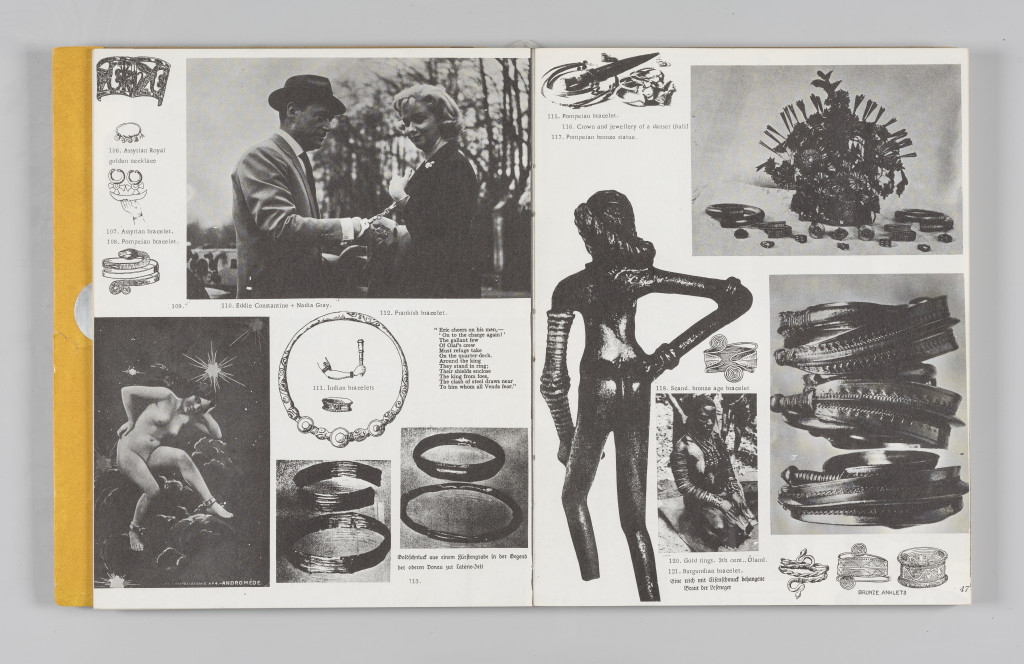 "Image of Andromeda chained to the rock, no. 109, ""The Situationist Times"" 5 (December 1964), page 46–47. All reproduction, deformation, modification, derivation, and transformation of ""The Situationist Times"" is permitted."