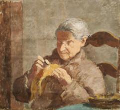 Bé de Waard, 'Portrait of a Woman', date unknown, oil on canvas, private collection.