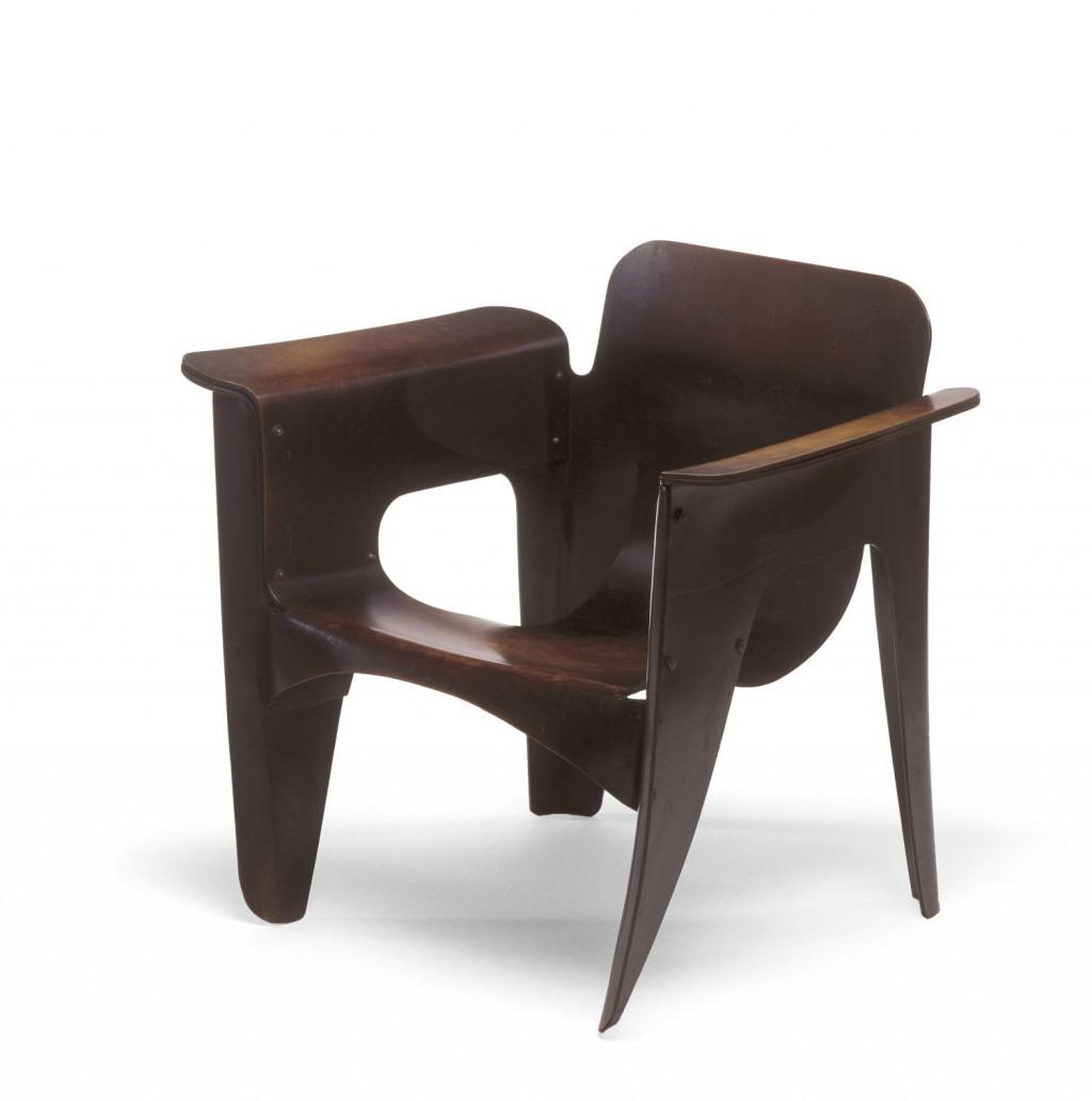 Fig. 7. Gerrit Rietveld, 'Birza-stoel', 1927, Stedelijk Museum Amsterdam, KNA 6712, c/o Pictoright Amsterdam/Stedelijk Museum Amsterdam