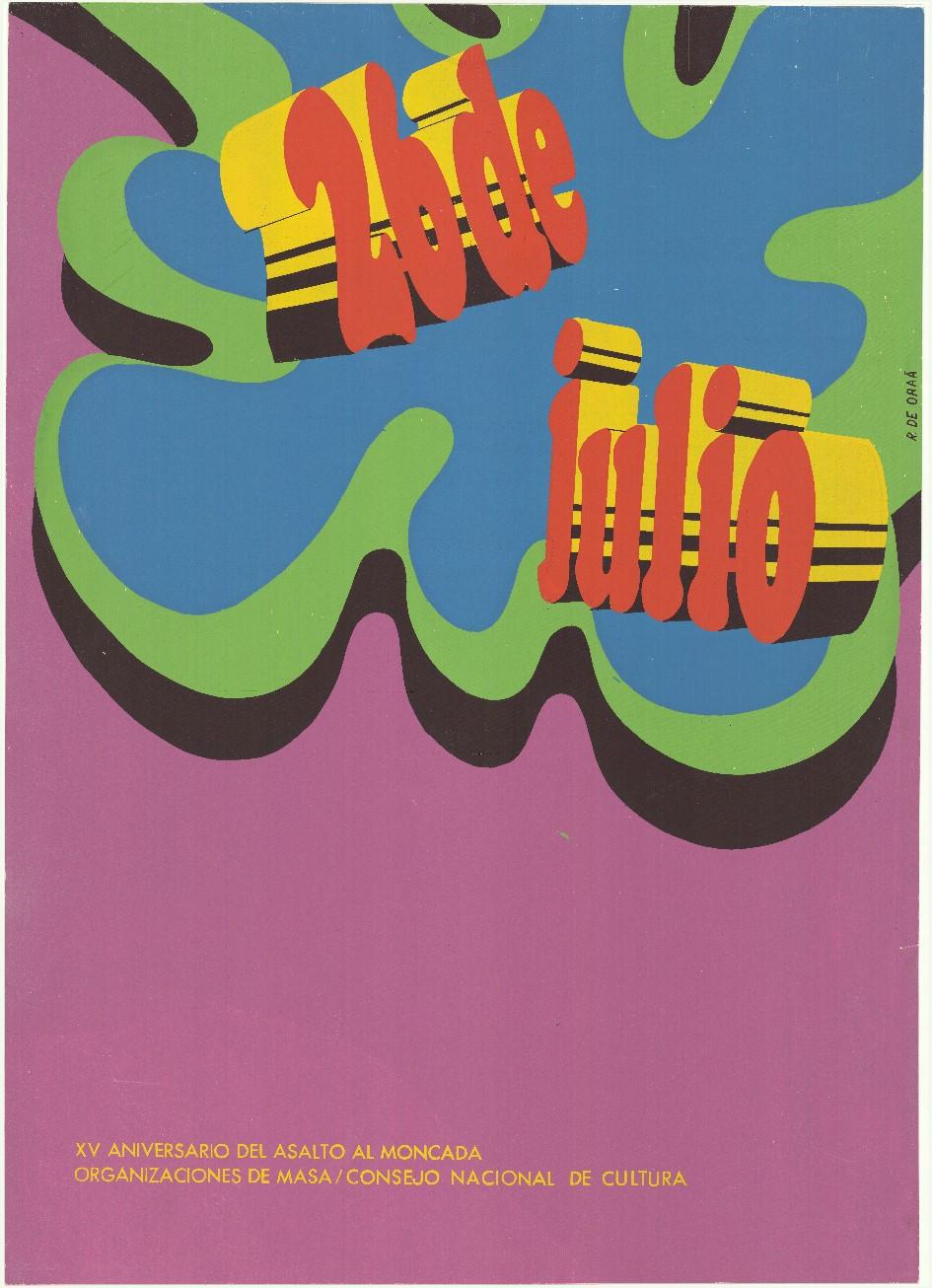 Elena Serrano, Dia del guerrillero heroico (Dag van de heldhaftige guerrillastrijder), 1968. Collectie Stedelijk Museum Amsterdam