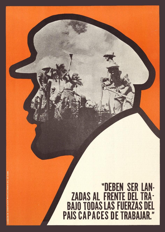 Jesús Forjans, Deben ser lanzadas al frente del trabajo todas las fuerzas del pais capaces de trabajar, 1970. Collectie Stedelijk Museum Amsterdam