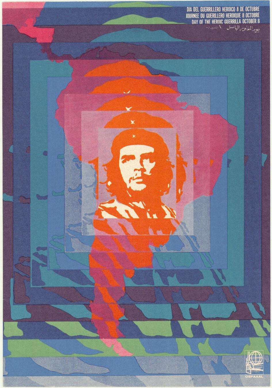 Rolando de Oraa Carratala, 26 de julio XV aniversario del asalto al Moncada (26e juli, XVe verjaardag van de aanval op Moncada), 1968. Collectie Stedelijk Museum Amsterdam