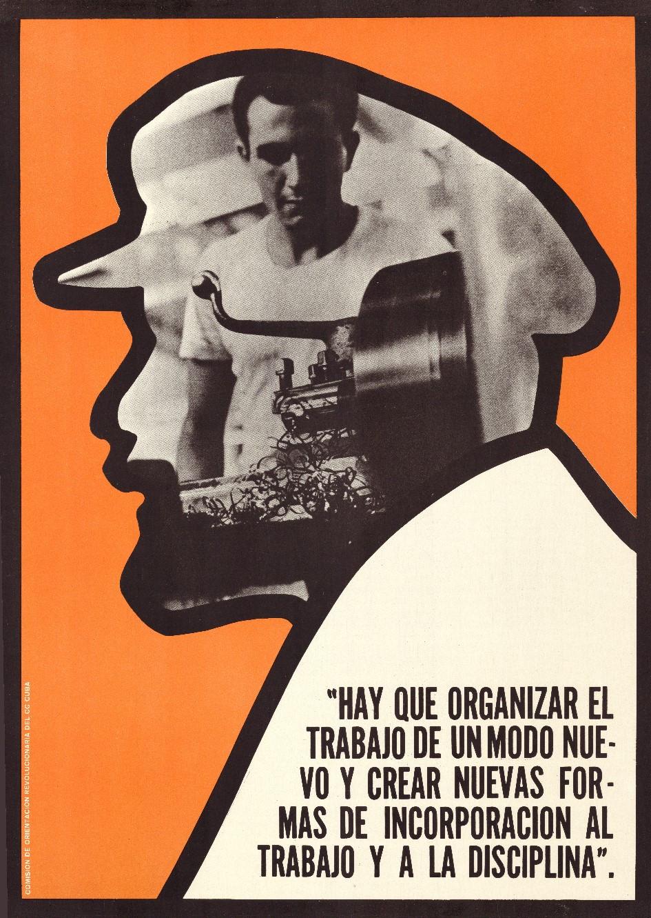 Jesús Forjans, Hay que organizar el trabajo de un modo nuevo y crear nuevas formas de incorporacion al trabajo y al a disciplina, 1970. Collectie Stedelijk Museum Amsterdam