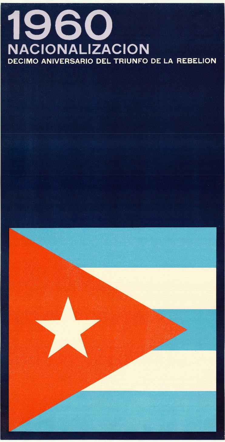 Ernesto Padrón Blanco, 1960 Nacionlizacion, 1969. Collection Stedelijk Museum Amsterdam