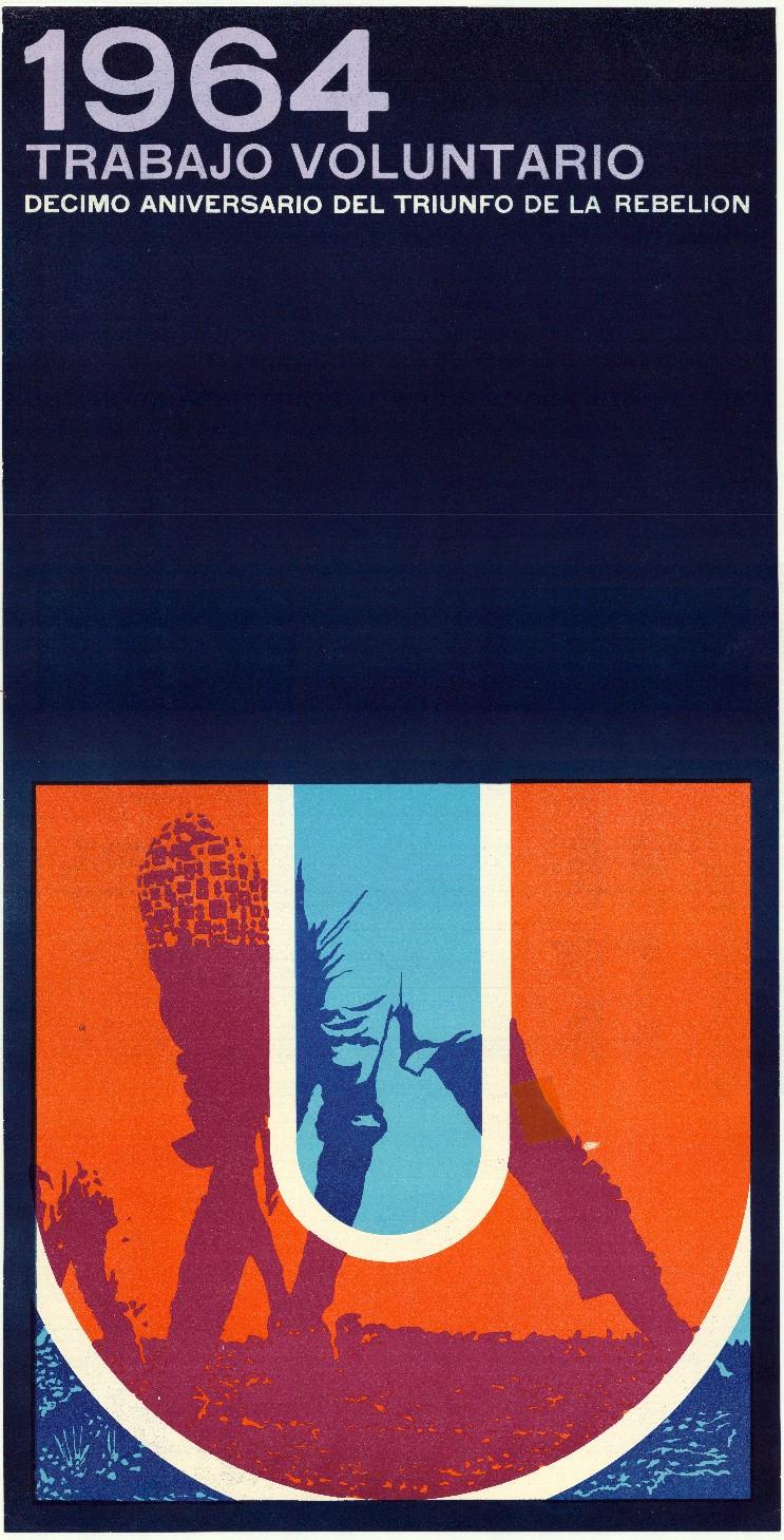Ernesto Padrón Blanco, 1964 Trabajo voluntario, 1969. Collectie Stedelijk Museum Amsterdam