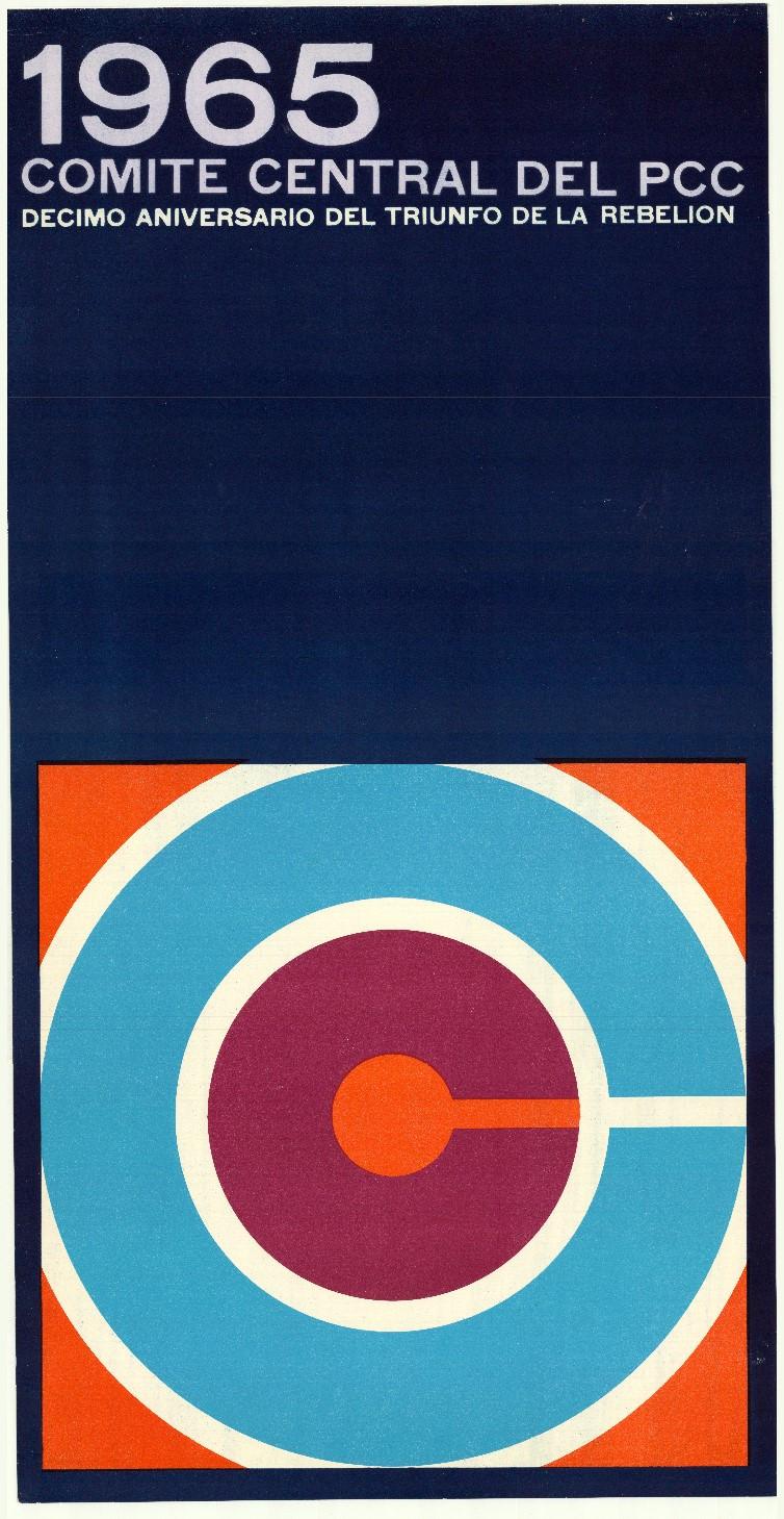 Ernesto Padrón Blanco, 1965 Comite central de PCC, 1969. Collectie Stedelijk Museum Amsterdam