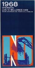 Ernesto Padrón Blanco, 1968 Offansiva: los 10 millones van, 1969. Collection Stedelijk Museum Amsterdam