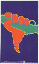 Asela M. Perez, Jornada internacional de solidaridad con America Latina (International Day of Solidarity with Latin America), 1970. Collection Stedelijk Museum Amsterdam