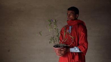 Basir Mahmood, 'Monument of Arrival and Return', 2016, video-installatie, 9 minuten 36 seconden, courtesy de kunstenaar