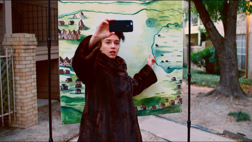 "Danielle Dean, ""True Red Ruin (Elmina Castle)"", 2016-2017, HD video, color, sound, 9 minutes 39 seconds, courtesy the artist."